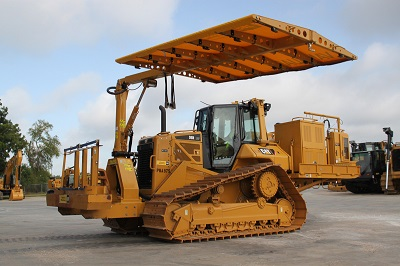 D6n Dozer Track Type Tractor And Equipment For Pipeline