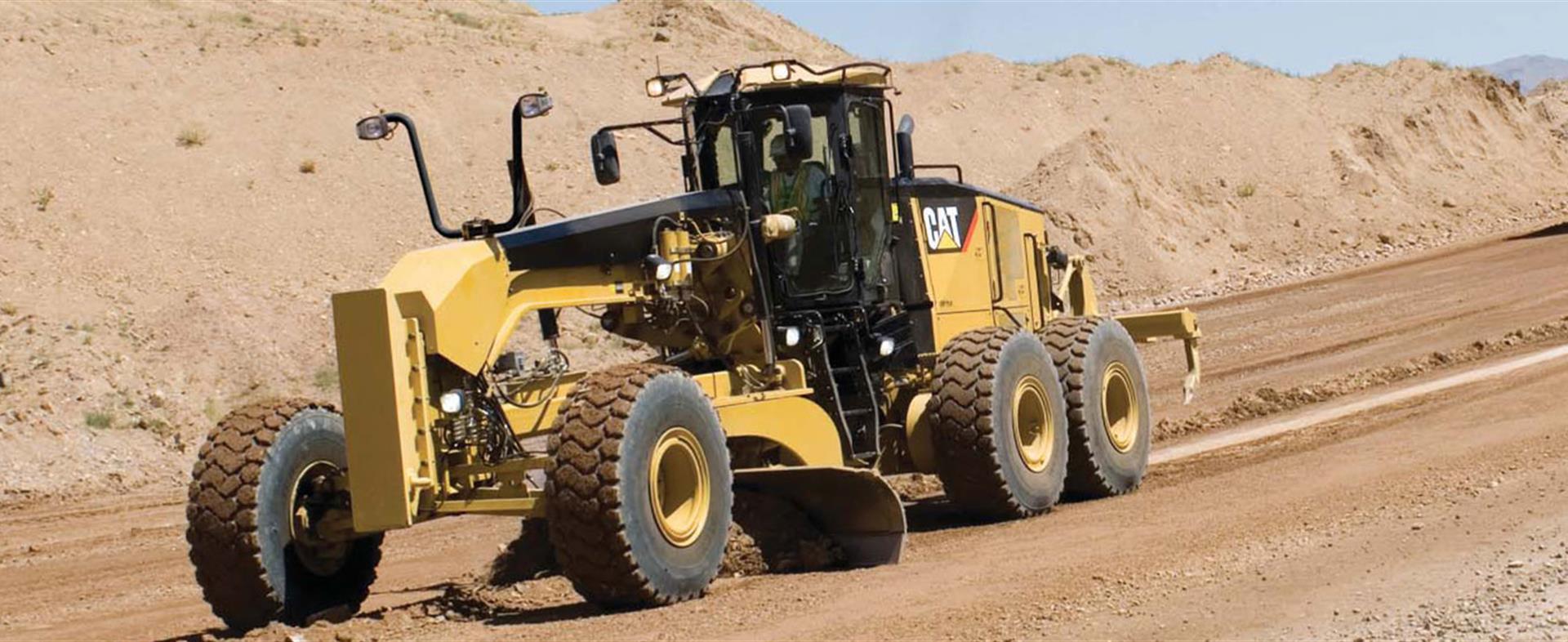 14M Motor Grader for Pipeline Construction