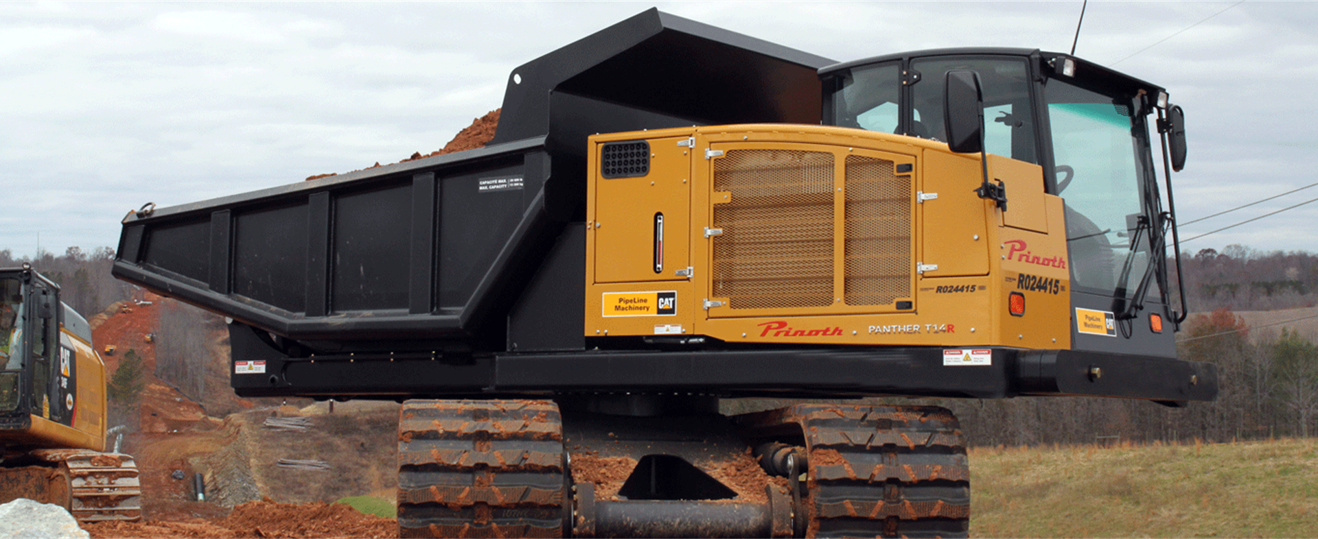Panther T14R Carrier by Caterpillar - Pipeline Construction